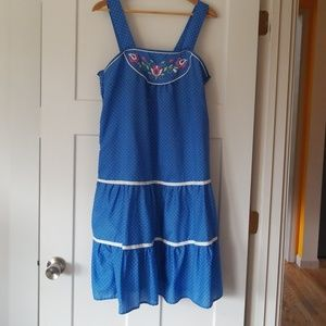 Vintage cotton sundress